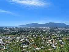 Photograph of Cairns and the Yarrabah Peninsula