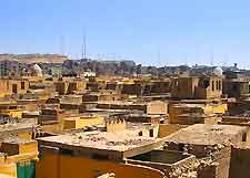 View of the City of the Dead in the Islamic Cairo district