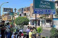 Photo of the Plaza Central area