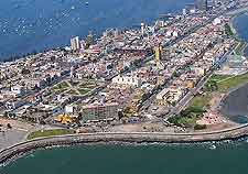 Aerial view of Callao
