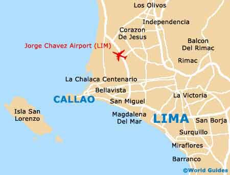 Small Callao Map
