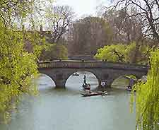 Photograph of Clare College Bridge