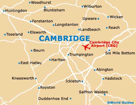 Small Cambridge Map