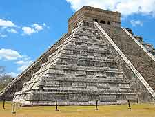 Picture of the world-famous Chichen Itza temple (nearby)