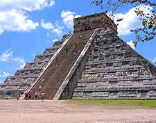 Photo of the famous nearby Chichen Itza