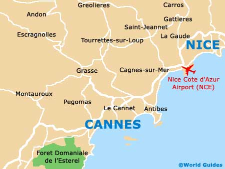 Small Cannes Map