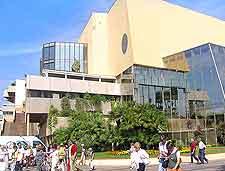 Image of the city's Palais des Festivals et des Congres