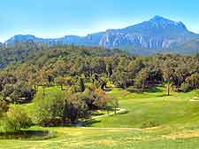 View showing scenery at the Riviera Golf Club