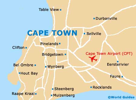 Small Cape Town Map
