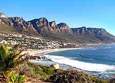 Coastal view of Camps Bay