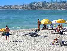 Further summer picture of Camps Bay