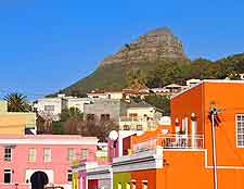 Photo of the colourful Bo-Kaap District (Malay Quarter)