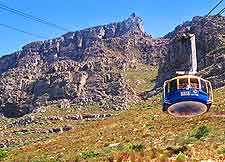 Photo of the Table Mountain cable car