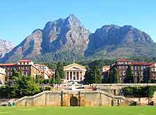 Summer photo of the University of Cape Town (UCT)