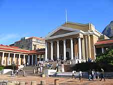 Further picture of the University of Cape Town (UCT)