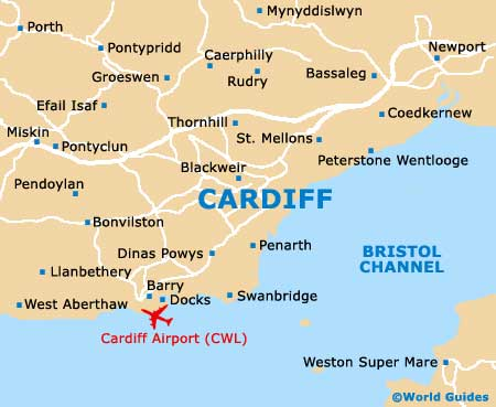 Small Cardiff Map