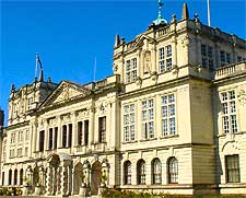 Photo showing the city's historic university