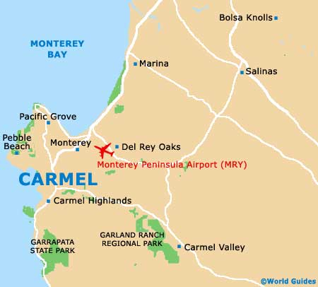 Carmel Maps and Orientation Carmel California CA USA