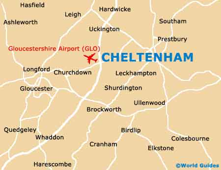 Small Cheltenham Map
