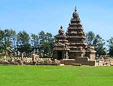 Photo of the World Heritage Site of Mamallapuram