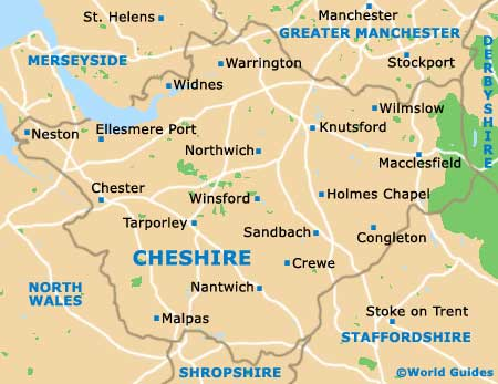 Chester Maps and Orientation: Chester, Cheshire, England