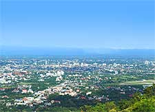 Further picture taken from the Doi Suthep Mountain, by Takeaway