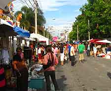 View of Sunday market