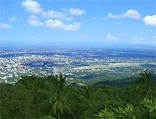 Photo of the cityscape, from the Doi Suthep Mountain