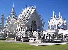 Picture of famous white temple