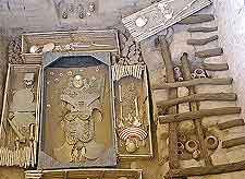 View of the Lord of Sipan Tomb (El Senor de Sipan)