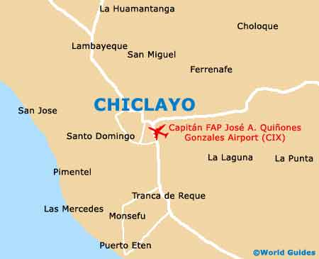 Small Chiclayo Map
