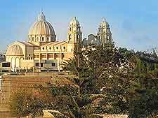 View of the Catedral Nuestra Senora del Carmen y San Pedro