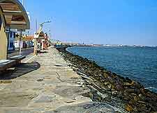 Photo of the Malecon coastal promenade