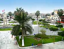 Image of central plaza