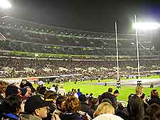 Photo of the AMI Stadium in Christchurch