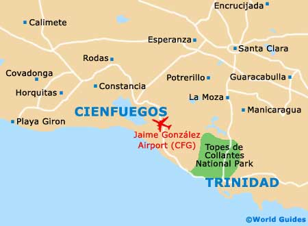 Small Cienfuegos Map