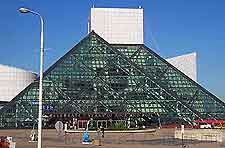Further picture of Cleveland's Rock and Roll Hall of Fame