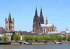 Cologne Airport (CGN) Information: Photo of the River Rhine