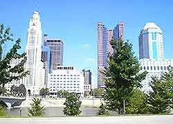 Columbus (Ohio) skyline photo