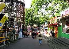 Image of the Bakken Amusement Park (Dyrehavsbakken)