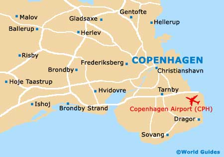 Small Copenhagen Map