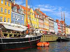 Photo of the famous Nyhavn harbourfront within the Danish capital of Copenhagen