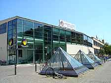 Picture of modern shopping centre in the city