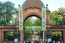 Picture of the Tivoli Amusement Park (Tivoli Gardens)