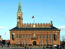 Picture of the City Hall (Kobenhavns Radhus)