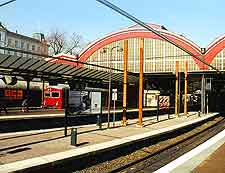 Picture of train station