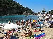 Picture of the Paleokastritsa Beach