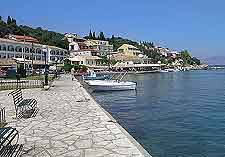 Photo of waterfront promenade in Corfu (Kerkyra)