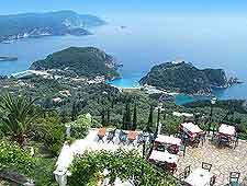 Coastal restaurant view showing breathtaking views