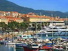 Photo of Ajaccio's port